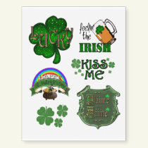 Lucky St. Patrick's Day 1 Temporary Tattoos