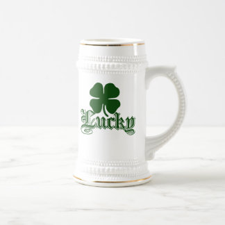 Lucky st patricks day coffee mug