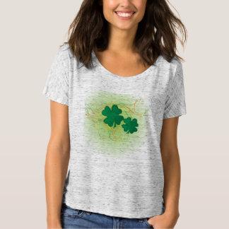 Lucky St. Patrick's Day Shamrock Clovers T-Shirt