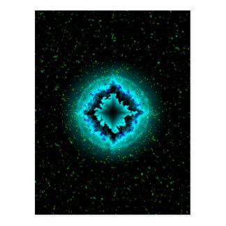 Lucky Star and Asterisk Postcard