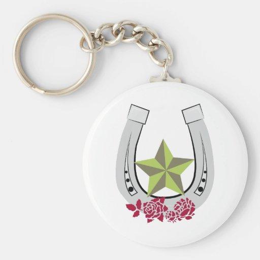 Lucky Star Keychain