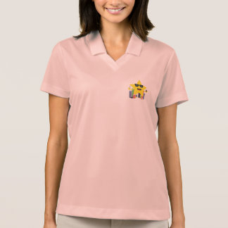 lucky star with poker chips polo shirt