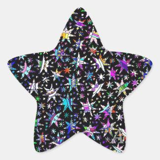 Lucky Stars Star Sticker