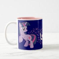 Lucky Stars Two-Tone Coffee Mug