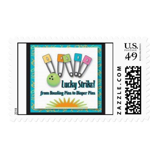Lucky Strike Retro Stamp