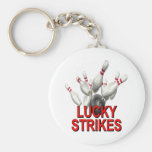 Lucky Strikes Bowling Keychains