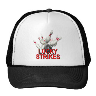 Lucky Strikes Bowling Trucker Hat