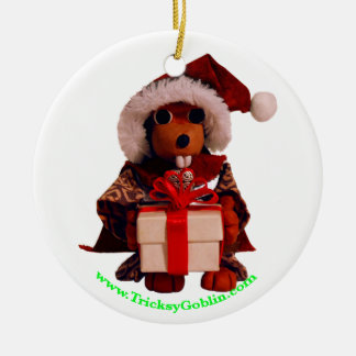 Lucky The Beaver Solstice Ornament