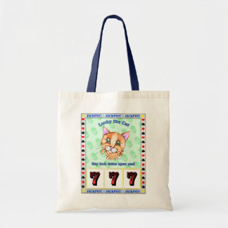 Lucky the Cat Tote Bag