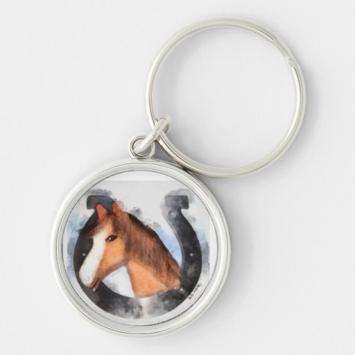 Lucky the Horse Key Chain