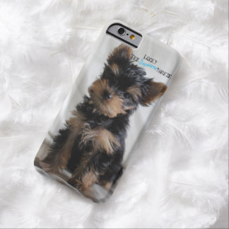 Lucky The Japanese Yorkie iPhone case Barely There iPhone 6 Case