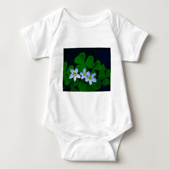 Lucky Three Baby Bodysuit