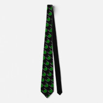 Lucky Tie Lucky Horseshoe Tie 4 Leaf Clover Tie