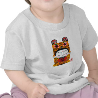 Lucky Tiger Baby T-shirt
