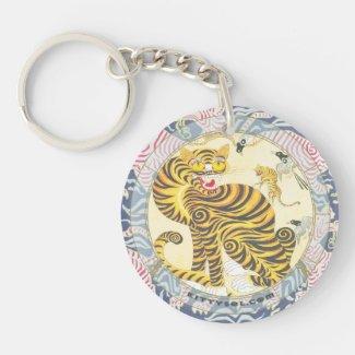 Lucky Tiger | Zodiac keychain