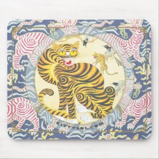 Lucky Tiger | Zodiac mousepad