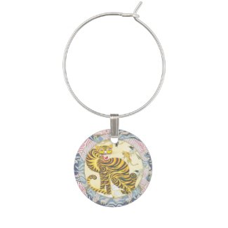 Lucky Tiger | Zodiac token Wine Charm