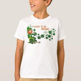 Lucky to be Irish Kids Shirt