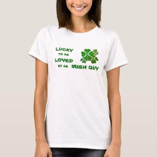 Lucky to be Loved Irish T-Shirt