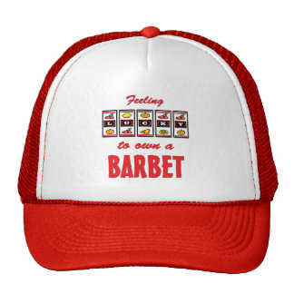 Lucky to Own a Barbet Fun Dog Design Hats