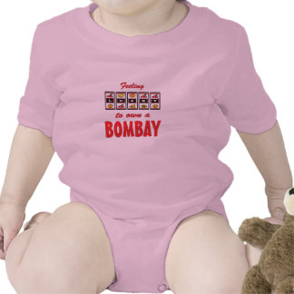 Lucky to Own a Bombay Fun Cat Design T-shirt