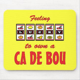 Lucky to Own a Ca de Bou Fun Dog Design Mouse Pad