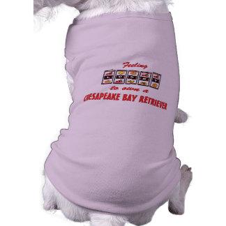 Lucky to Own a Chesapeake Bay Retriever Doggie Shirt