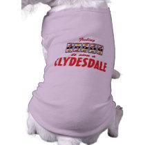 Lucky to Own a Clydesdale Fun Horse Design Shirt