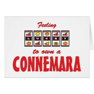 Lucky to Own a Connemara Fun Pony Design Card