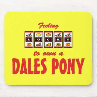 Lucky to Own a Dales Pony Fun Design Mouse Pad