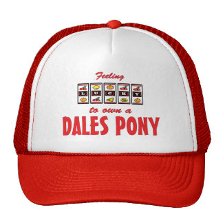 Lucky to Own a Dales Pony Fun Design Trucker Hat