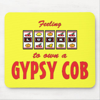 Lucky to Own a Gypsy Cob Fun Horse Design Mouse Pad