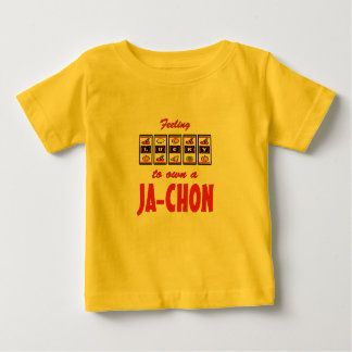 Lucky to Own a Ja-Chon Fun Dog Design Infant T-shirt