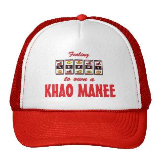 Lucky to Own a Khao Manee Fun Cat Design Trucker Hat