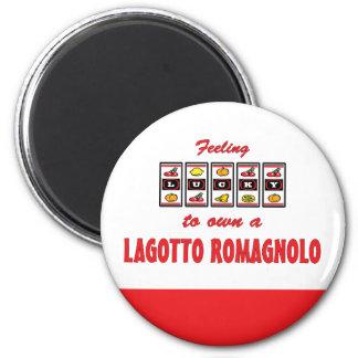 Lucky to Own a Lagotto Romagnolo Fun Dog Design Magnets