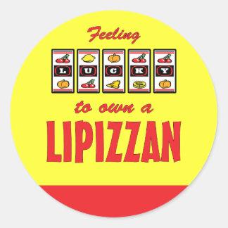 Lucky to Own a Lipizzan Fun Horse Design Classic Round Sticker