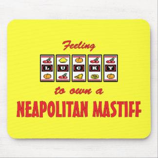 Lucky to Own a Neapolitan Mastiff Fun Dog Design Mouse Pad