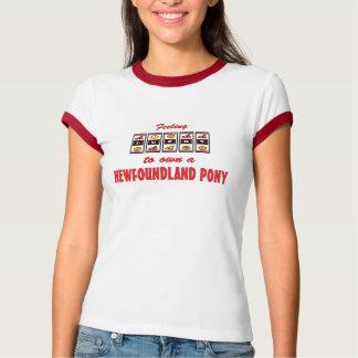 Lucky to Own a Newfoundland Pony Fun Design Tees