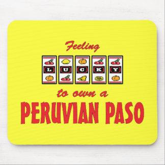 Lucky to Own a Peruvian Paso Fun Horse Design Mouse Pad
