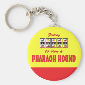Lucky to Own a Pharaoh Hound Fun Dog Design Keychains