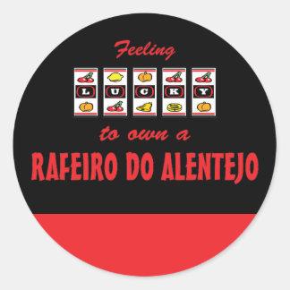 Lucky to Own a Rafeiro do Alentejo Fun Dog Design Classic Round Sticker