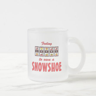 Lucky to Own a Snowshoe Fun Cat Design Coffee Mugs