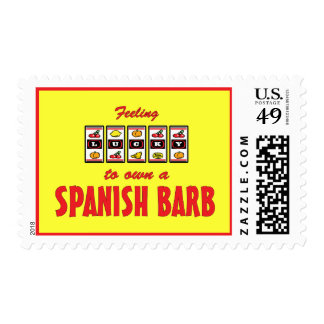 Lucky to Own a Spanish Barb Fun Horse Design Stamps