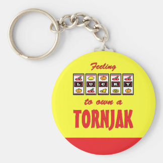Lucky to Own a Tornjak Fun Dog Design Key Chain