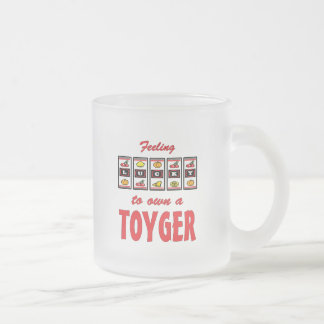 Lucky to Own a Toyger Fun Cat Design Mugs