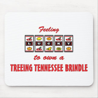 Lucky to Own a Treeing Tennessee Brindle Mouse Pad