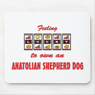 Lucky to Own an Anatolian Shepherd Dog Fun Design Mouse Pad