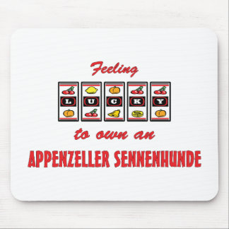 Lucky to Own an Appenzeller Sennenhunde Mouse Pad