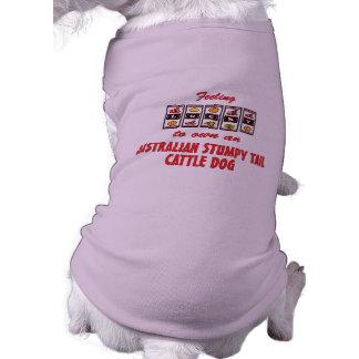 Lucky to Own an Australian Stumpy Tail Cattle Dog Dog T-shirt