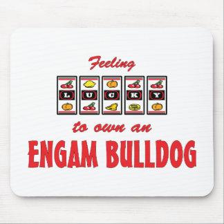 Lucky to Own an EngAm Bulldog Fun Dog Design Mouse Pad